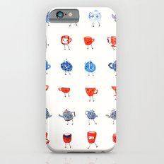 Fancy cups and teapots  iPhone 6 Slim Case