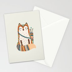 Fox tribe II Stationery Cards