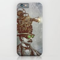 pixel iPhone & iPod Cases featuring The Projectionist (colour option) by Eric Fan