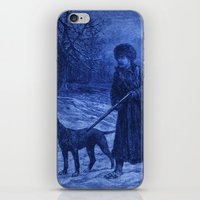 The Trapper (Vintage Reproduction) iPhone & iPod Skin