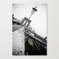 Brooklyn Bridge #1 Canvas Print