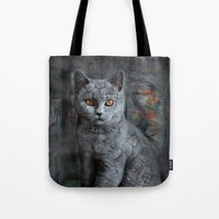 cats instantaneous Tote Bag