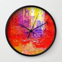 Circle Of Smiles Wall Clock