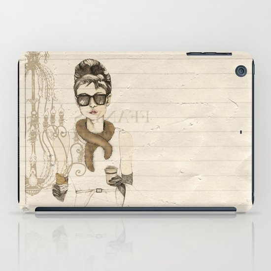 My breakfast at Tiffany's iPad Case