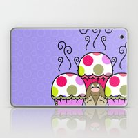 Cute Monster With Pink A… Laptop & iPad Skin