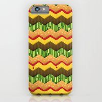 Cheeseburger Chevron iPhone 6 Slim Case