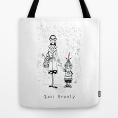 A Few Parisians by David Cessac: Quai Branly Tote Bag