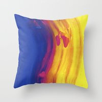 Shift  Throw Pillow