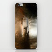 Foggy Alum Creek On A Ch… iPhone & iPod Skin