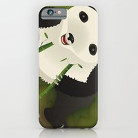 iPhone & iPod Case featuring pppanda! by Claudio Gomboli