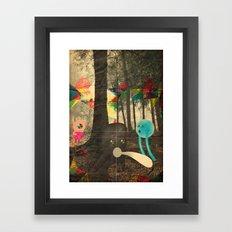 occhio bao Framed Art Print