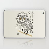 Hypno Owl Laptop & iPad Skin