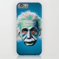 iPhone & iPod Case featuring Colorful Einstein by Kristin Frenzel