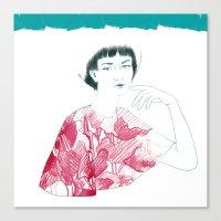 Lina Canvas Print