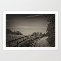 Country Path Art Print