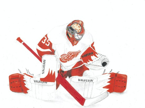 Jimmy Howard Art Print
