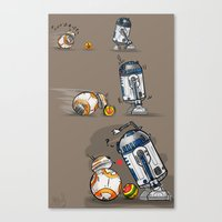 Droid Playtime Canvas Print
