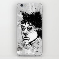 Brooklyn Bridge Girl iPhone & iPod Skin