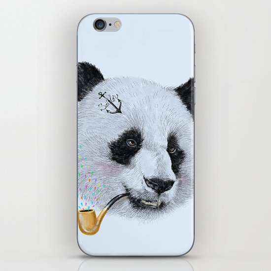 Panda Sailor iPhone & iPod Skin