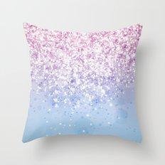 Glitteresques IV:XI Throw Pillow