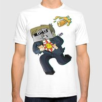 Solaire Of Block - Minec… Mens Fitted Tee White SMALL