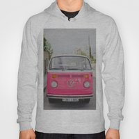 Hot Pink Lady Hoody