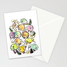 Kiwi Family Stationery Cards