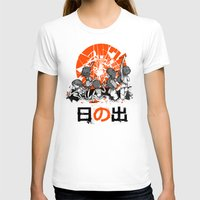 We'll help you rise again Womens Fitted Tee White SMALL