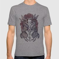 Rare Hearts Mens Fitted Tee Athletic Grey SMALL