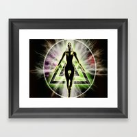 Extreme Voyager Framed Art Print