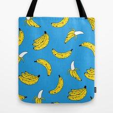 Banana Print Tote Bag