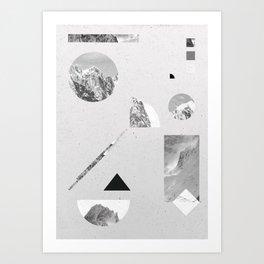 Art Print - monochromatic - .eg.