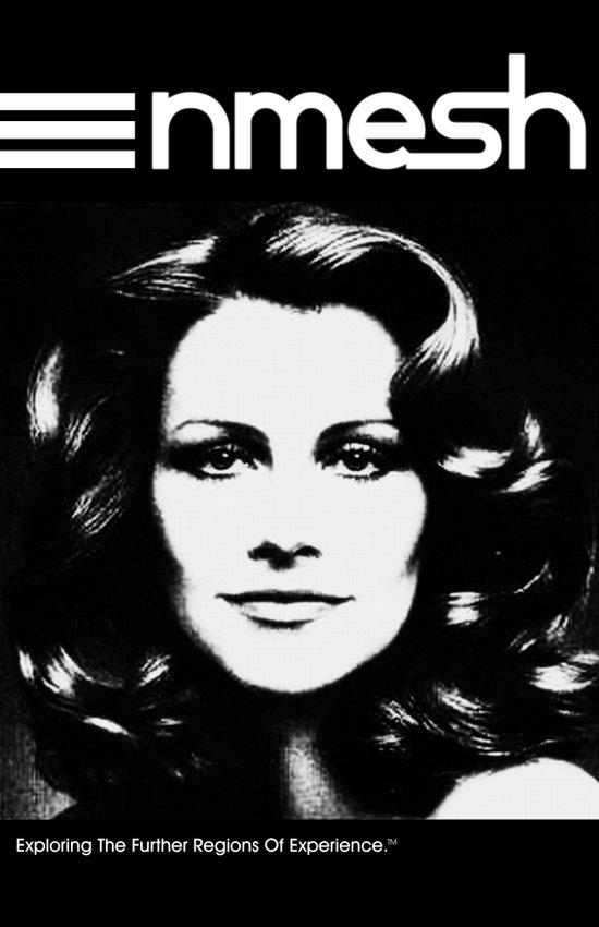 "Nmesh ""Vapor Lady"" Poster Art Print"