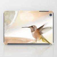 Hummingbird In Flight iPad Case