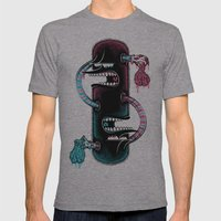 Twins Mens Fitted Tee Athletic Grey SMALL