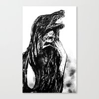 The Beast Within Canvas Print