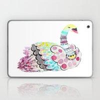 Patterned Swan Laptop & iPad Skin
