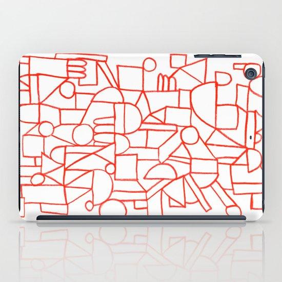 Rad lines iPad Case
