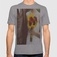 Man & Wife Mens Fitted Tee Athletic Grey SMALL