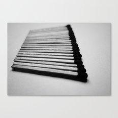 Matches Pattern #1 Canvas Print
