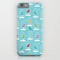 iPhone & iPod Case featuring The one who can't be caged by Matt Andrews
