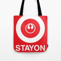 Stay On Target... Tote Bag