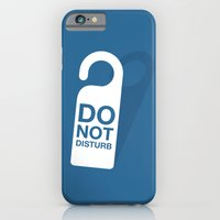 Do not disturb iPhone 6 Slim Case