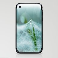iPhone & iPod Skin featuring A Large Spider Web On Th… by Tanja Riedel
