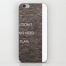 Plan iPhone & iPod Skin