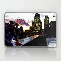 Spiderman in London Close up Laptop & iPad Skin