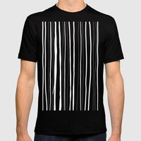 Vertical Living Mens Fitted Tee Black SMALL
