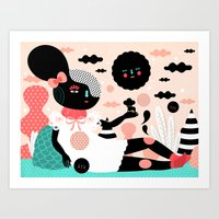 A Day In The Woods Art Print