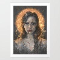 Katniss Art Print
