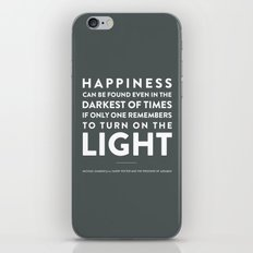 Light - Quotable Series iPhone & iPod Skin